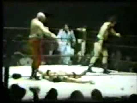 Ox Baker causes a riot in Cleveland 1960s
