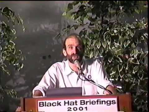 Black Hat USA 2001 - Paradigms Lost: Engineering vs. Risk Management.