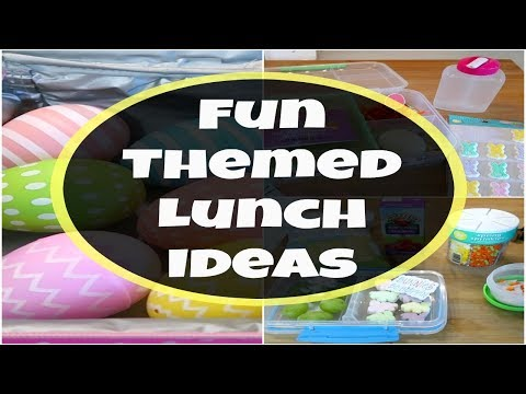 Easy Easter Themed Lunch Ideas For Kids