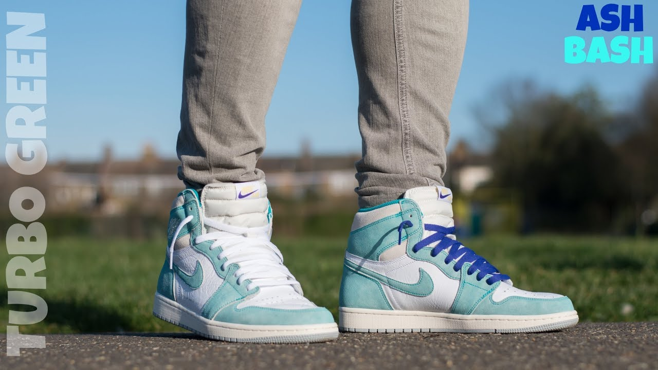 best shoes available new arrivals Review + On Feet | Jordan 1 'Flight Nostalgia 'Turbo Green' Ash Bash
