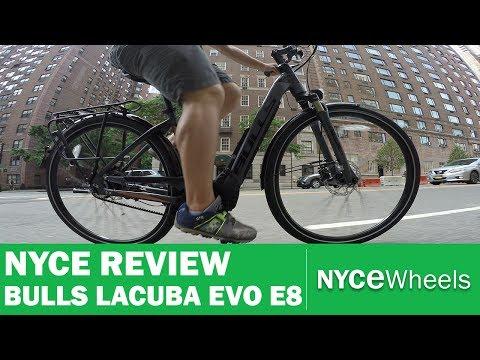 bulls-lacuba-evo-e8,-belt-drive-commuter---electric-bike-review