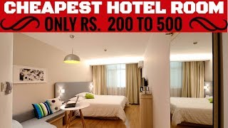 Booking Hotel | Cheap Hotel Booking| Only Rs. 200 to 500 | Answer to Vlogger Akash | TRAVEL TRICKS