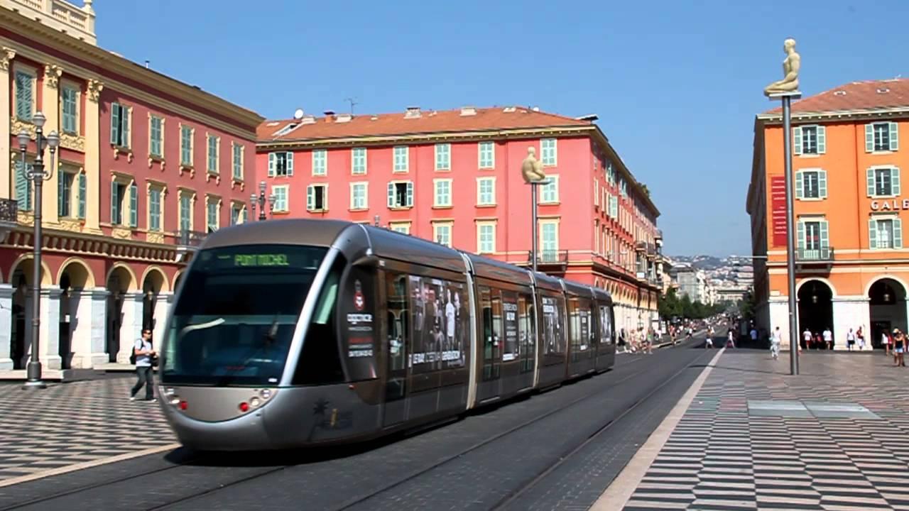 Tramway of nice place massena 2012 youtube - Place massena nice ...