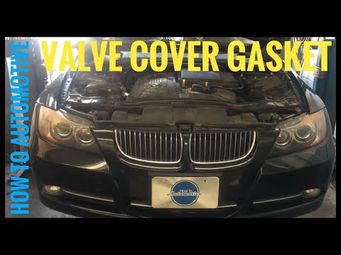 How to Replace the Valve Cover Gasket on a 2007-2010 BMW 335i (N54)