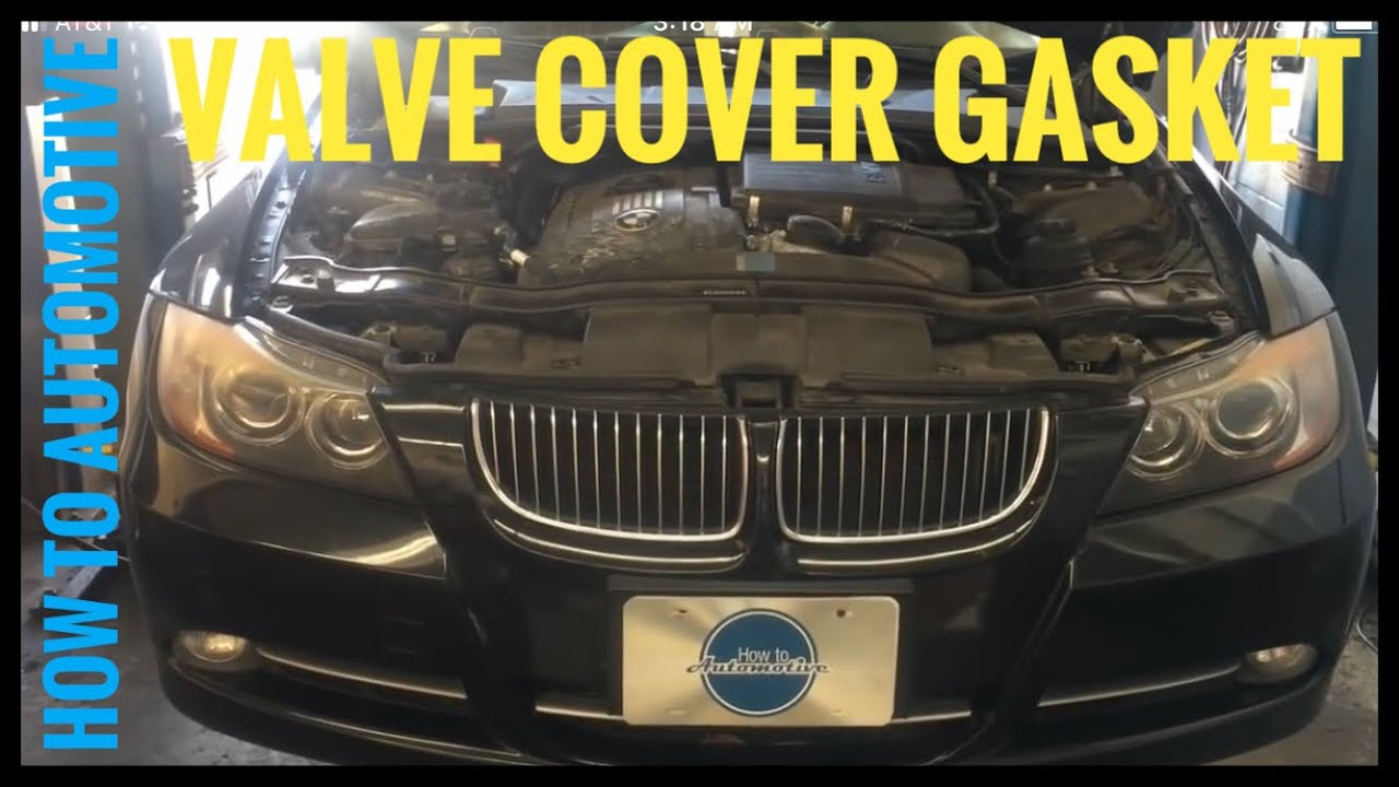 How to Replace the Valve Cover Gasket on a 20072010 BMW 335i (N54)  YouTube