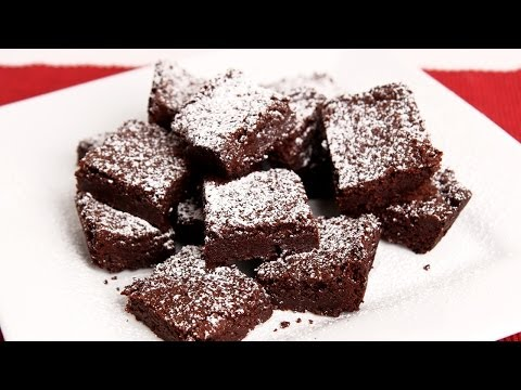 Homemade Chewy Brownies Recipe - Laura Vitale - Laura in the ...
