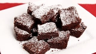 Homemade Chewy Brownies Recipe - Laura Vitale - Laura in the Kitchen Episode 691