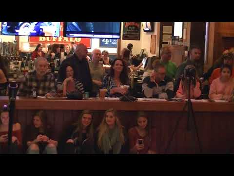 Wild Wing Voice Off Show 2..Stage camera view..3-1-2018