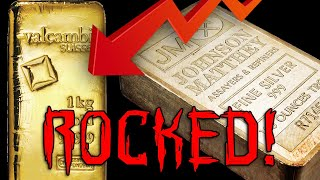 Gold & Silver Markets Rocked! Prices Plunge!