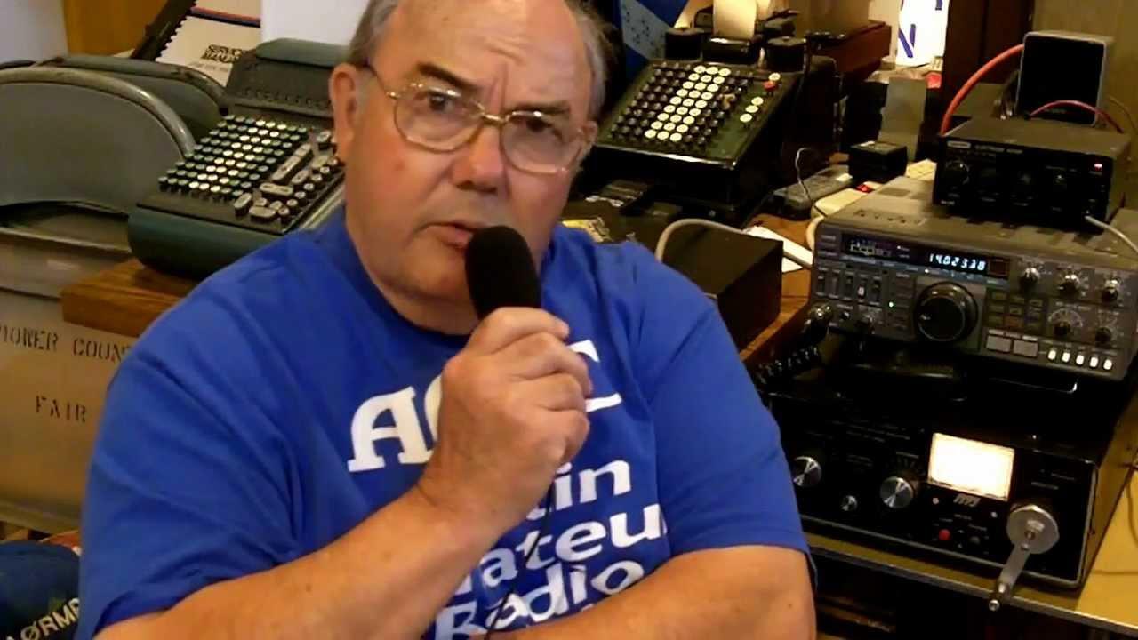 Ham Radio At Mower County Fair, Austin, MN