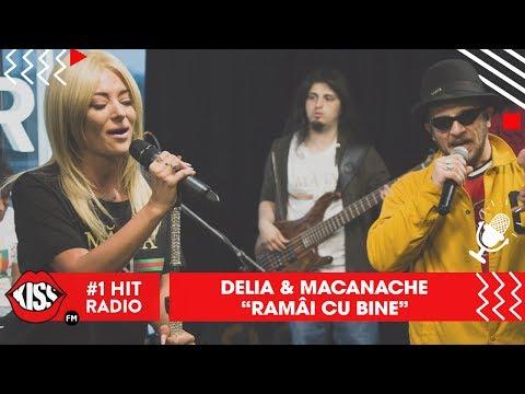 Delia & Macanache -  Rămâi cu bine (Live @ Kiss FM)
