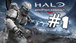 Halo Spartan Assault Walkthrough Part 1 Gameplay Review Lets Play Playthrough PC [HD]