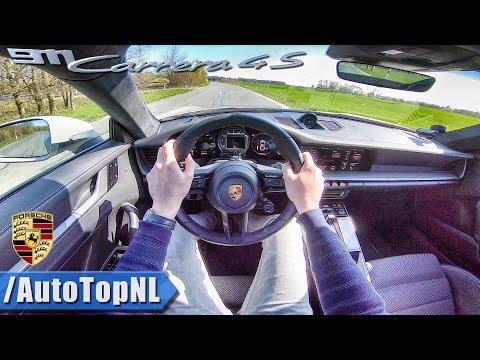 2019 Porsche 911 992 Carrera 4S PDK | POV Test Drive by AutoTopNL