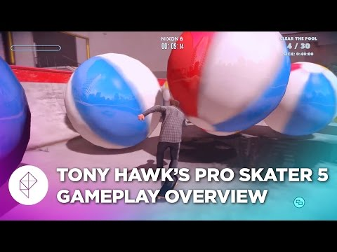 Tony Hawk's Pro Skater 5 is Heartbreakingly Bad - Gameplay Overview