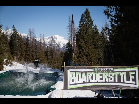 Monster Energy Boarderstyle - Round 1