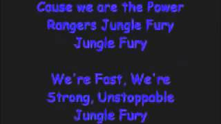 Power rangers Jungle fury Theme song Lyrics