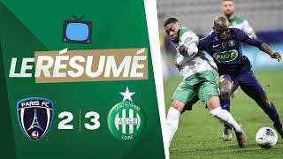 Paris FC 2-3 ASSE : le résumé vidéo