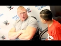 Brock Lesnar HATES: Women and Children