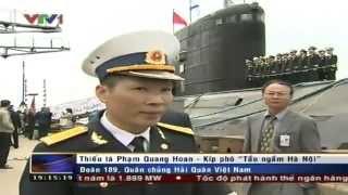 Lộ diện tàu ngầm Hà Nội trên truyền hình Việt Nam