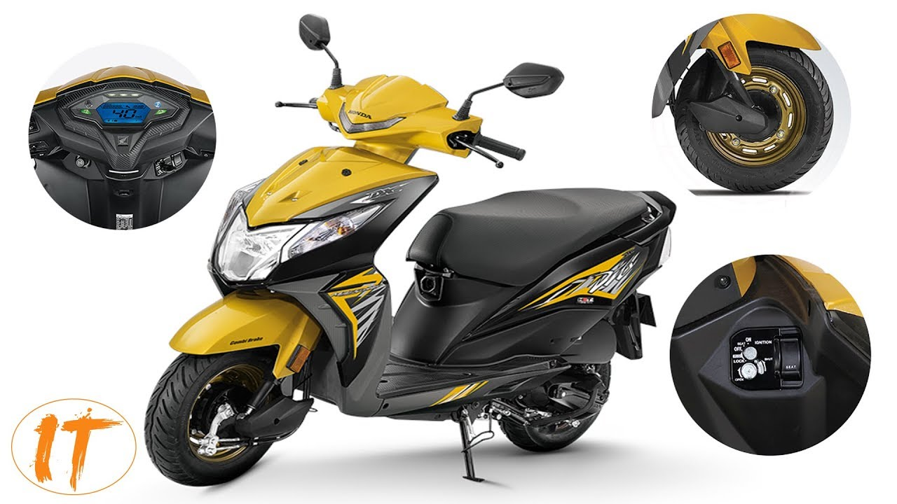 2018 Honda Dio Deluxe Launched In India Priced At 53 292 Youtube