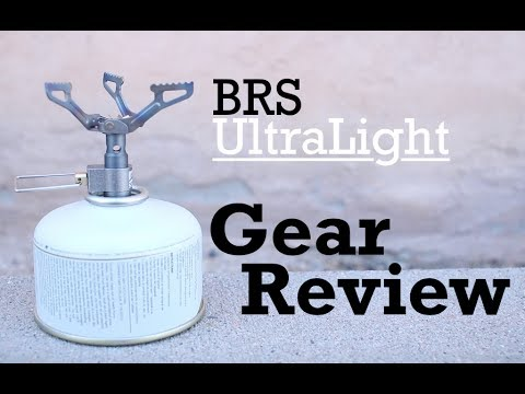BRS UltraLight Stove Review