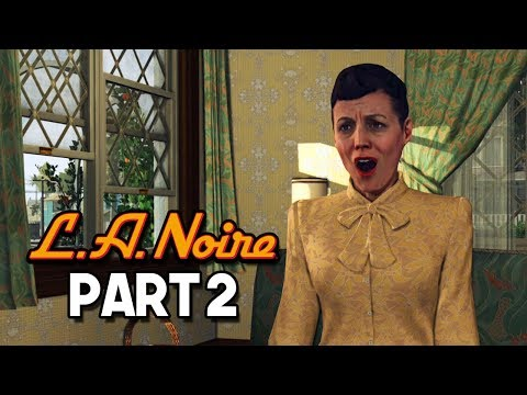 THE LONELY WIFE - LA Noire Gameplay Walkthrough #2