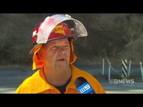 Adelaide Hills Bushfire | 9 News Adelaide