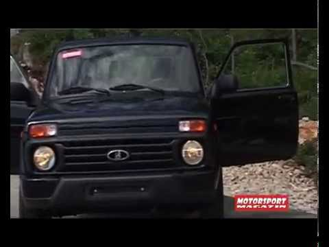 New Lada Urban 4x4 Review Motorsport Magazin Youtube