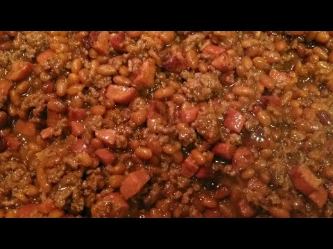 Easy Baked Beans Recipe- Southern Style