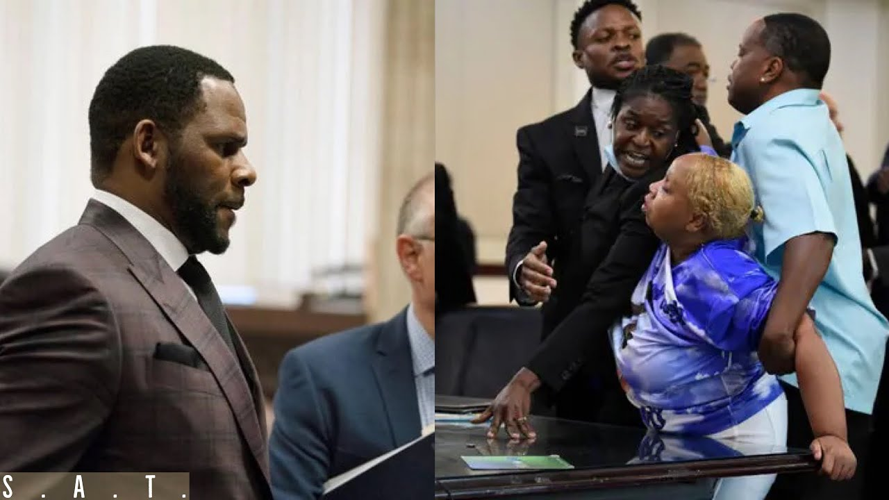 """Download R. Kelly's Victims STARTED ACTIN UP in Court """"YOU RUINED OUR LIVES!"""""""