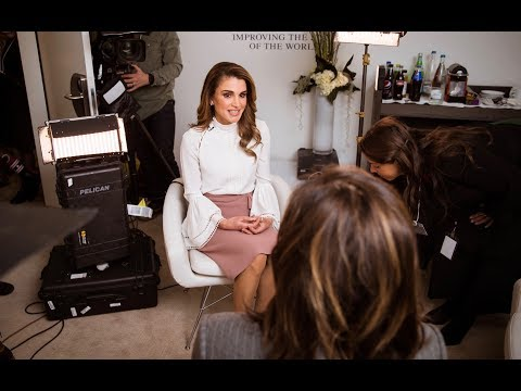 Queen Rania's Interview with Fox Business Network