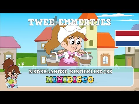 Twee Emmertjes | Kinderliedjes | TEKENFILM | Liedjes Voor Peuters En Kleuters | Minidisco