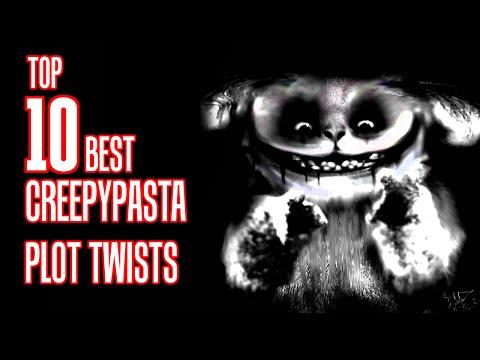 Top 10 BEST CREEPYPASTA Plot Twists