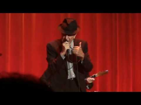 Lisbon 2009, Closing time, Leonard Cohen.