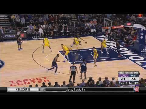 LA Lakers vs Minnesota Timberwolves - MELHORES MOMENTOS   Oct 29, 2018   NBA 2018-19
