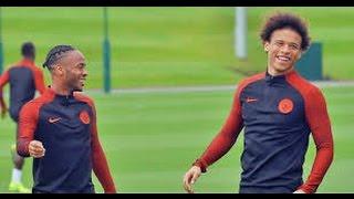 Raheem Sterling + Leroy sane Man City Wingers