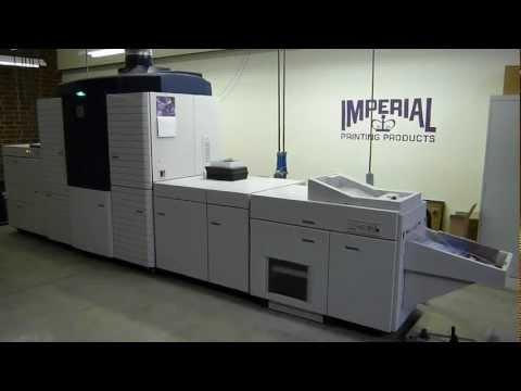 XEROX IGen3 90 Digital Printing Press Demo