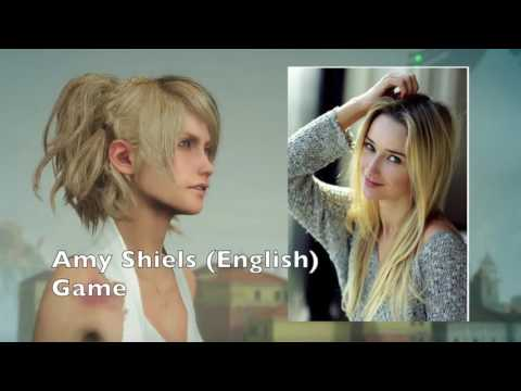 Voice Actresses Compare Lunafreya [GAME,MOVIE AND ANIME]