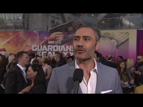 Thor Ragnarok: Director Taika Waititi Red Carpet Movie Premiere Interview