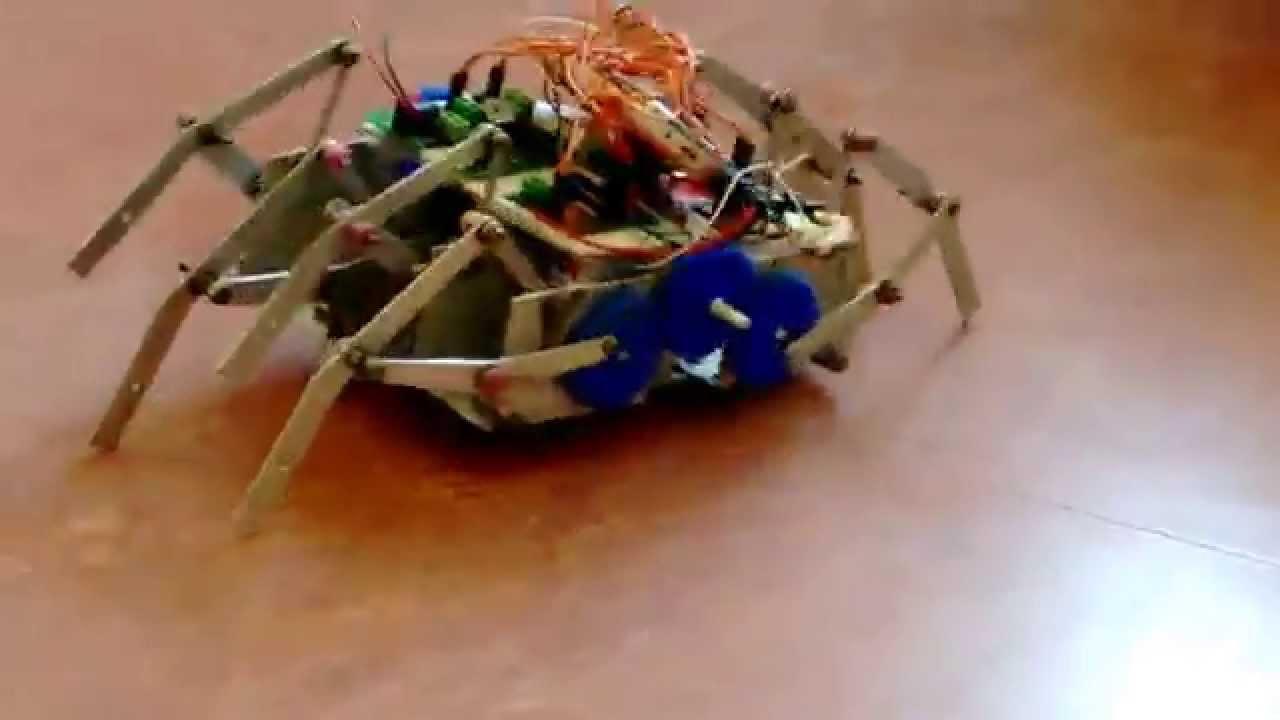 DTMF based Mechanical Spide ✔ ...