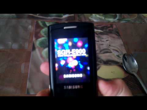 Samsung SGH-E900 on/ off sound