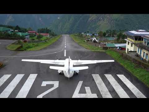 Lukla Airport Traffic- Nepal 2017
