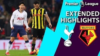 Tottenham v. Watford | PREMIER LEAGUE EXTENDED HIGHLIGHTS | 1/30/19 | NBC Sports