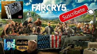 Far Cry 5 con HD 7770 1Gb Gddr5 128bits = r7 250x/+ que r7 350/+ que Amd APU