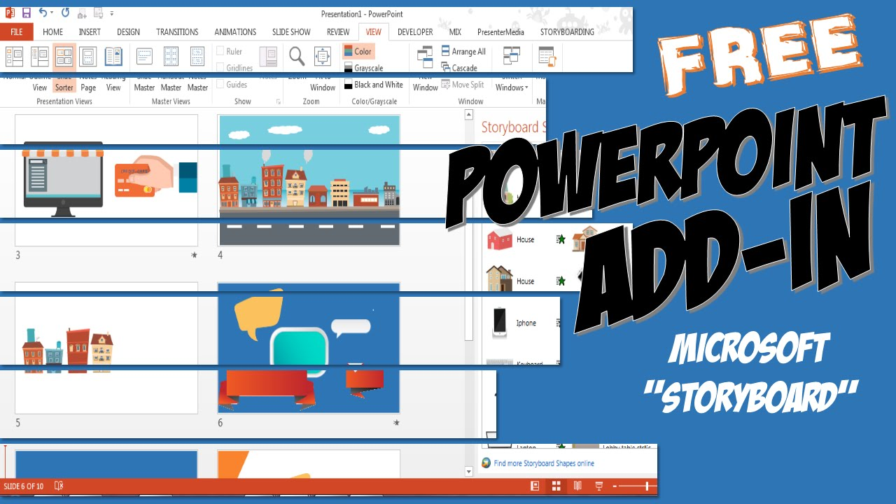 how to install powerpoint storyboard youtube