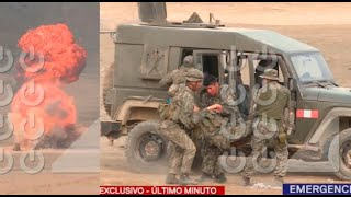 Explosión en campo militar dejó seis soldados heridos