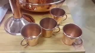 Медная посуда от производителя аламбики медные алькитара посуда из меди и многое другое из меди !!!!(, 2018-06-08T18:00:35.000Z)