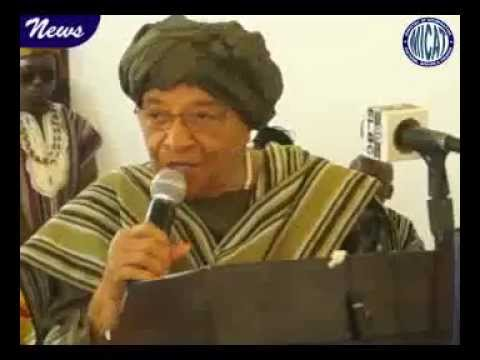 Pres.  Sirleaf delivers keynote at CSO program on the impact of Ebola on communities