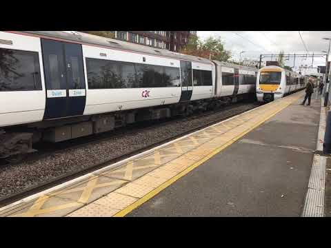 Basildon Train Station And Electrostar Train's 2019