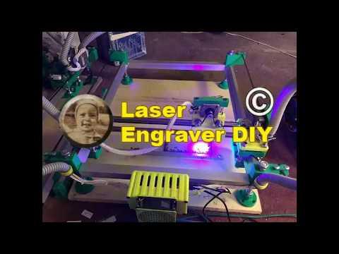Laser Wood Engraving and Amber Inlay